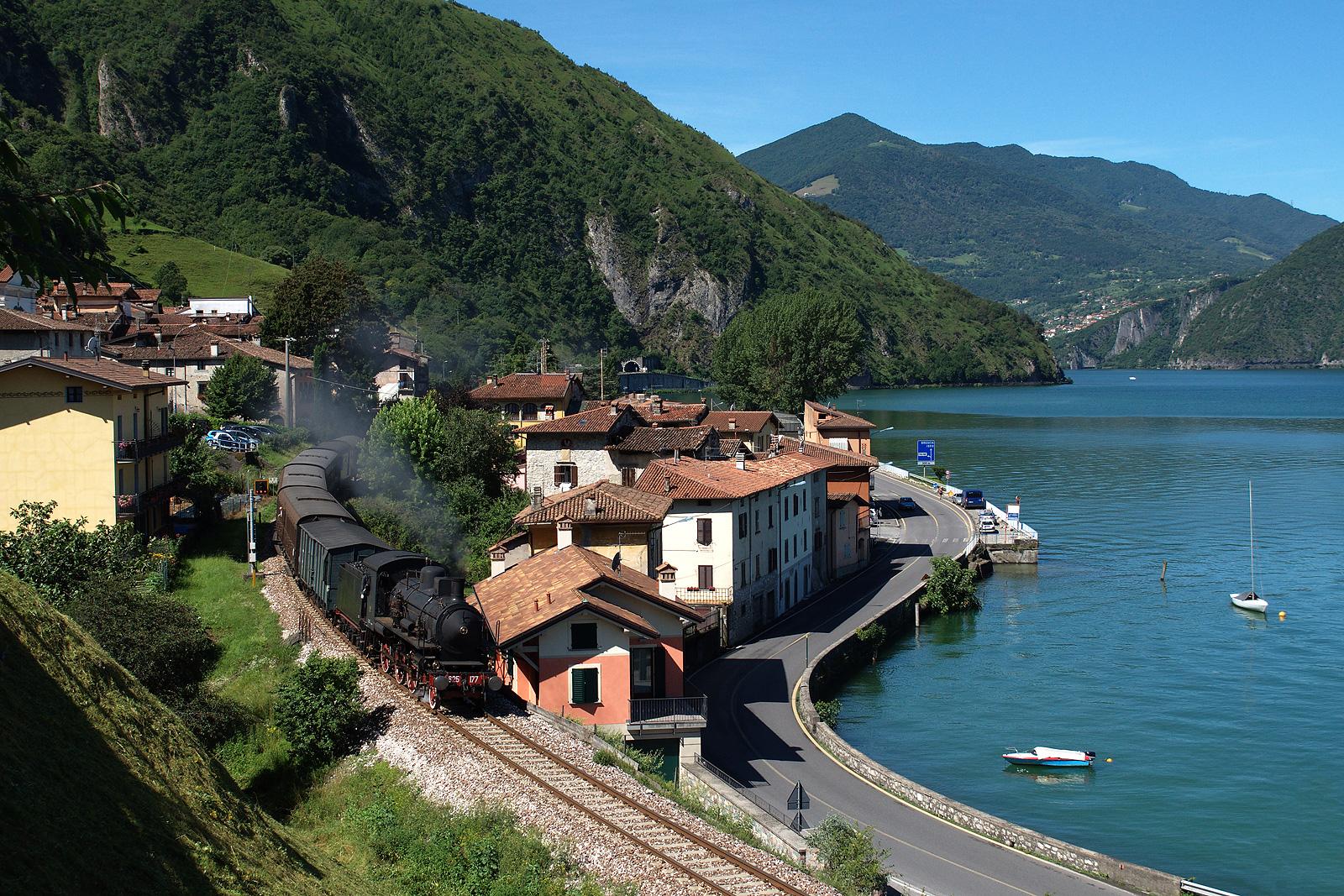 Toline, Brescia–Iseo–Edolo-vasútvonal