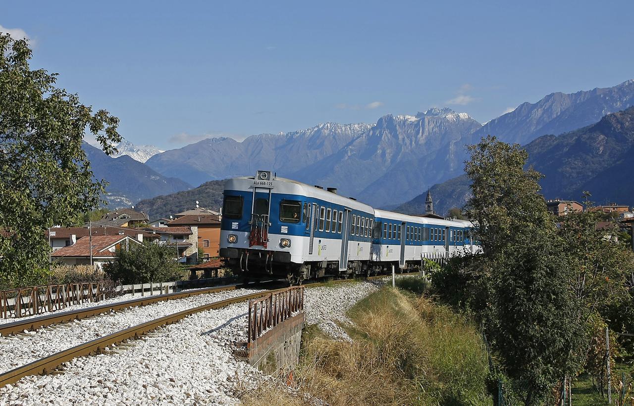 darfo boario terme, Brescia–Iseo–Edolo-vasútvonal