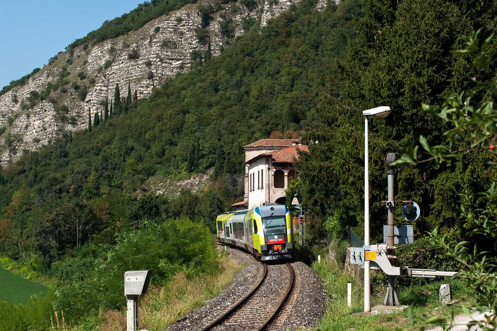Provaglio, Brescia–Iseo–Edolo-vasútvonal