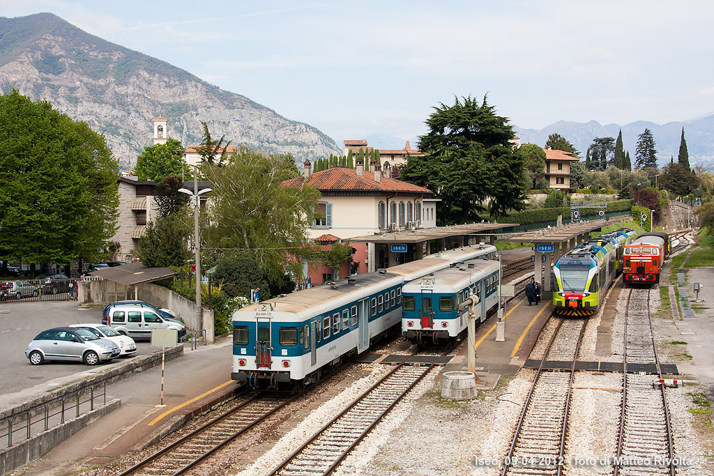 Brescia–Iseo–Edolo-vasútvonal
