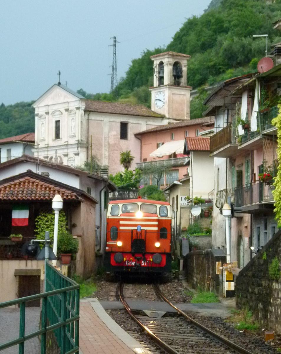 Marone, Brescia–Iseo–Edolo-vasútvonal