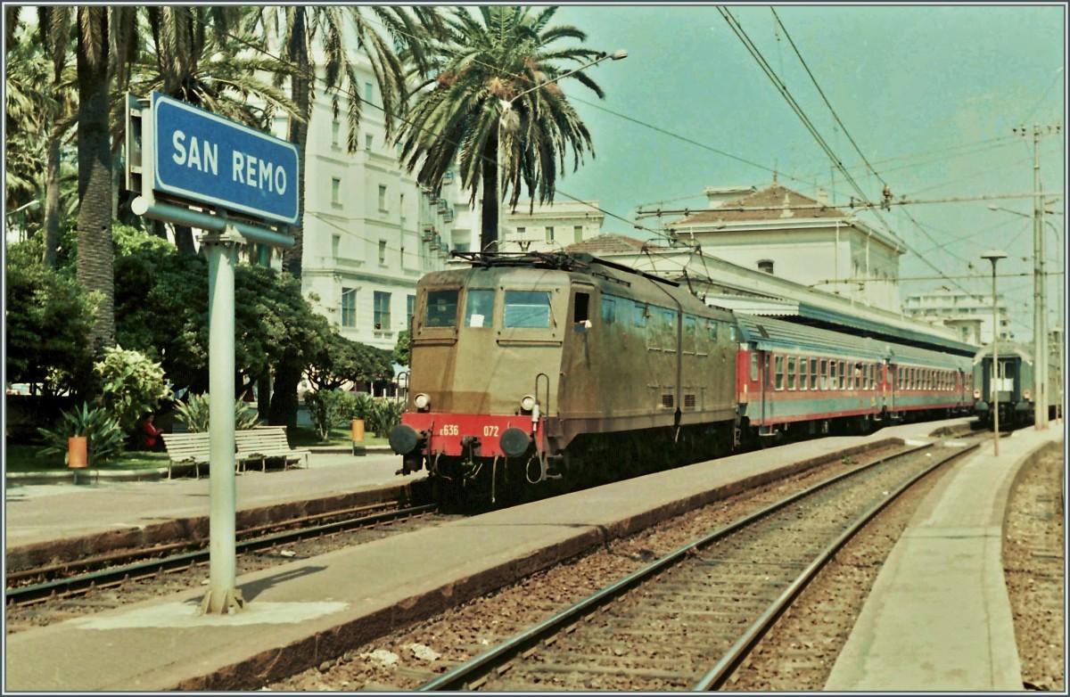 Genova-ventimiglia-vasútvonal, San Remo állomás