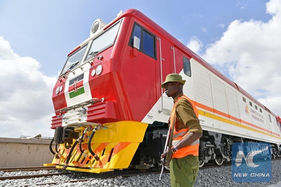 kenya, mombasa-Nairobi-vasútvonal, normál nyomtávolság, kína