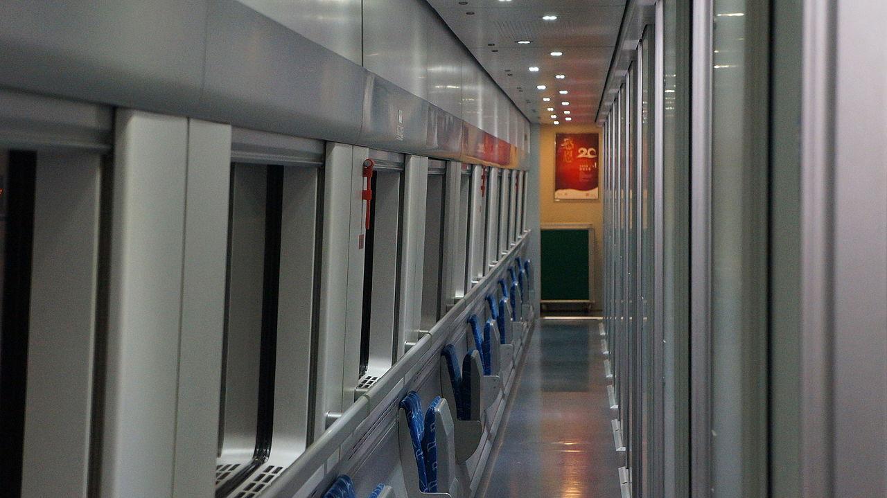 CRH1, Kína, nagysebességű vonat, éjszakai vonat, hálóvonat
