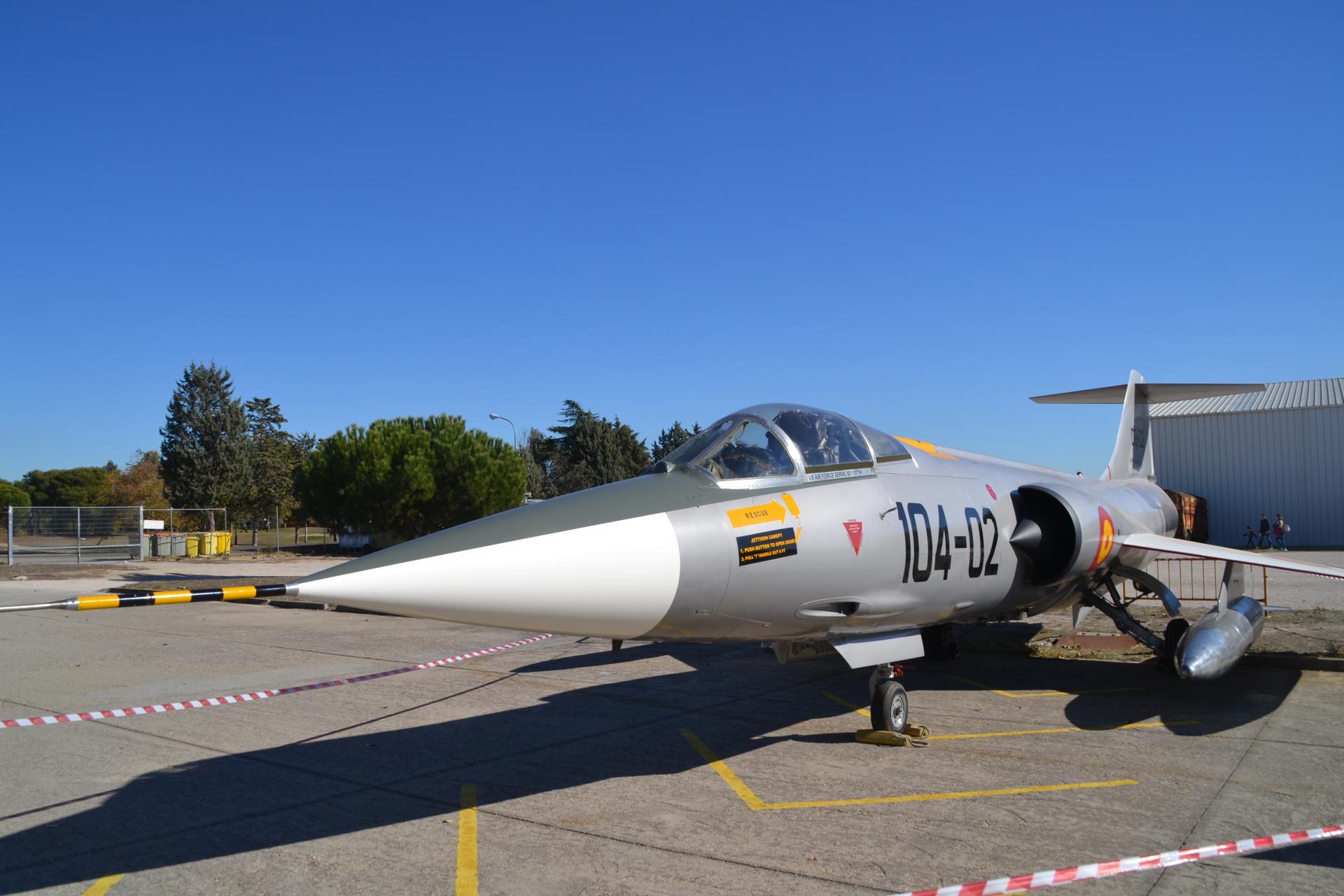 madrid, repülőgép-múzeum, Museo del Aire