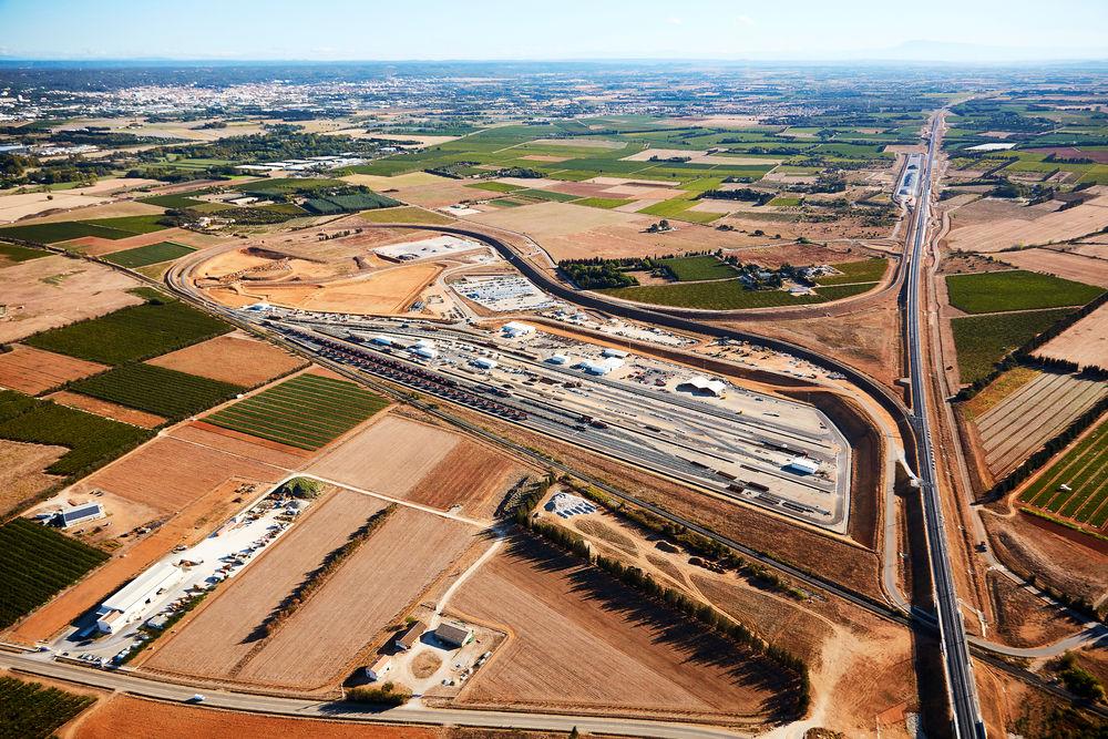 Nîmes–Montpellier nagysebességű vasútvonal, TGV, Franciaország, 2017