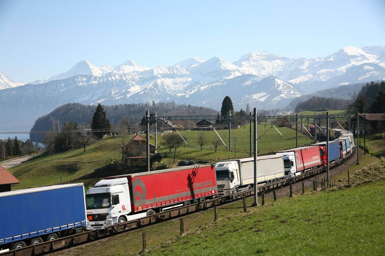 Rola, ausztria, kombinált szállítás