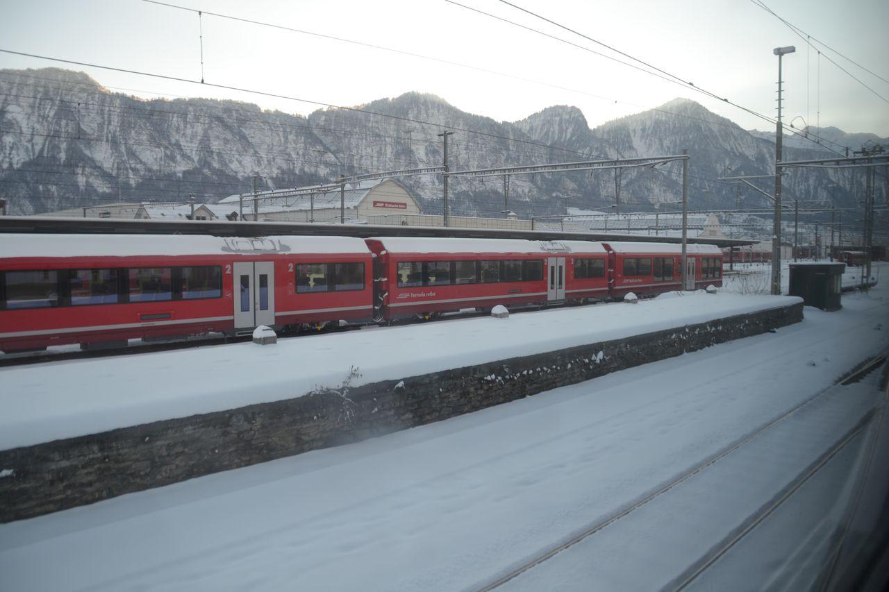 svájc, chur, rhb, Rhätische Bahn