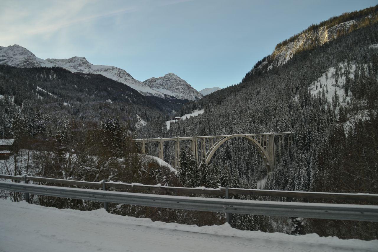 svájc, arosabahn, Langwieser viadukt