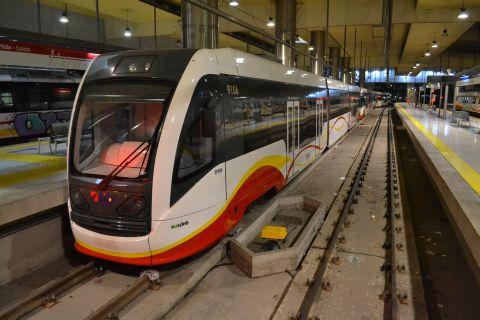 mallorca vasútja SFM 91 sorozatú motorvonatok