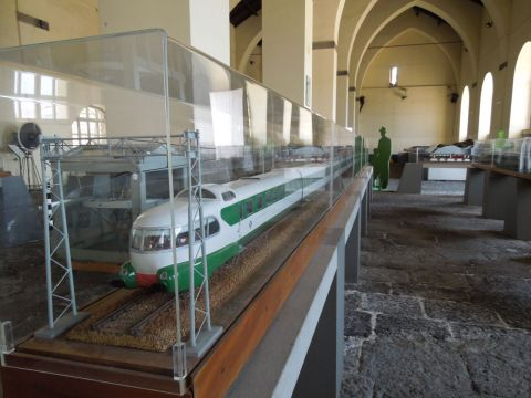 Pietrarsa vasúttörténeti múzeum