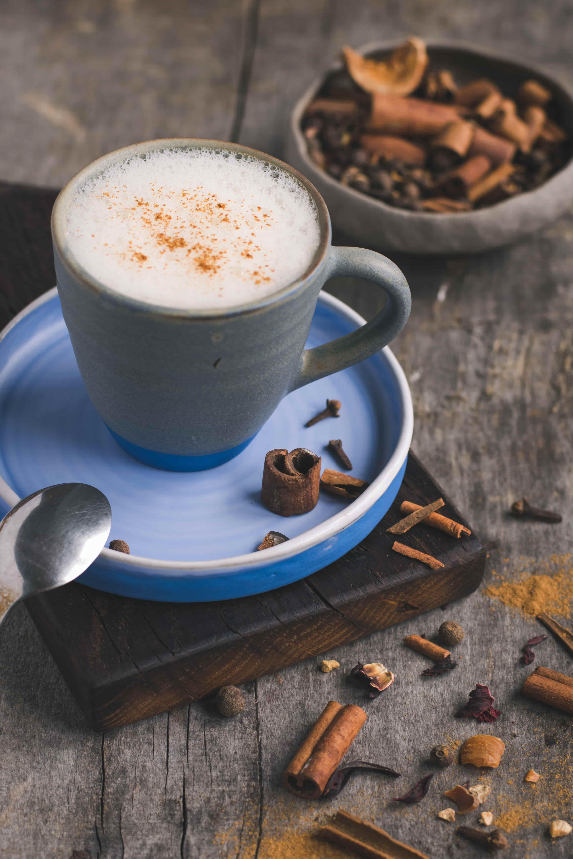 Cukor- és tejmentes chai latte