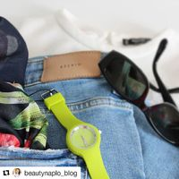 A @beautynaplo_blog bloggere Katka is a H2X órákért rajong. Nálunk még van ez a szín! #fashionwatch #h2xwatches #green #fashionwatchhungary #musthave #summer2018 #trend2018 #terezkrt #campona