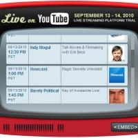 Egyre több élő műsor lesz a YouTube-on