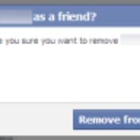Megszakítani egy kapcsolatot a Facebookon...