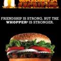 Tíz kapcsolat törléséért egy ingyen hamburger
