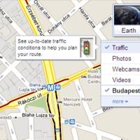 Valós idejű magyarországi közlekedési infók a Mapsben!