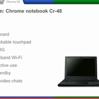 Google Chrome bejelentés, élőben