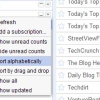 Ráncfelvarrás a Google Readerben