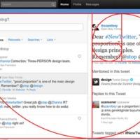 Az új Twitter layout: még erősen béta
