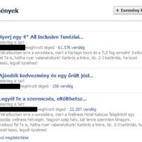 A legújabb reklámszemétdomb a Facebookon: az Események