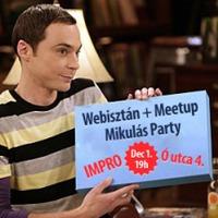 Idén is Webisztán Mikulás Party - a Meetuppal közösen