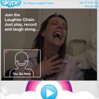 Legjobb víruskampányok a weben: A Skype nevetőlánca