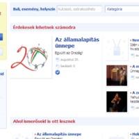 iWiW Események, Facebook Places - új területeken támad a két konkurens