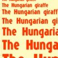 A zsiráf felemelt egy magyar fontot...