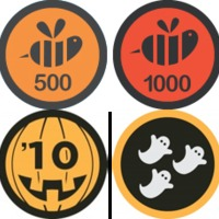 Új Foursquare badge-ek: Halloween és Epic Swarm