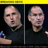 Steve Jobs mellett