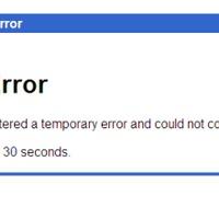 Down horror: ismét áll a Gmail
