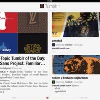Flipboard + Tumblr és Google Currents
