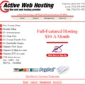 business web site hosting