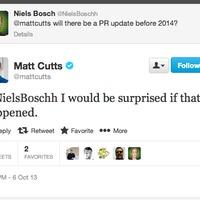 Matt Cutts: ebben az évben már nem lesz több PageRank frissítés