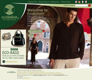 Ecolution oldala