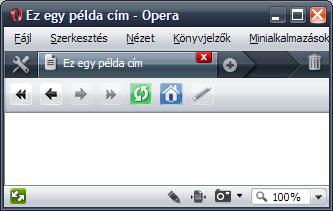 A title elem a weblap fejlécében és a fülön is megjelenik
