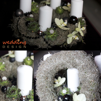Adventi koszorú a Wedding Design-tól