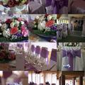 Lila-rózsaszín esküvő a Petneházy Club Hotelben
