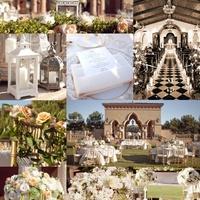 Fehér esküvői dekoráció a romantika jegyében
