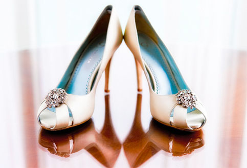 Mint Wedding Shoes Canada
