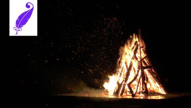 Mihály napi tűzgyújtás