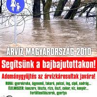 SEGÍTSÉG - ÁRVÍZ 2010