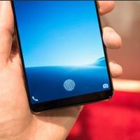 Végre itt az első mobil, amiben a kijelző alá rejtették az ujjlenyomat olvasót