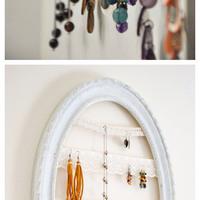 DIY: Csináld magad ékszertartó ötletek