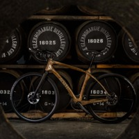 Hordóból készített bicikli?!