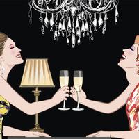 A pezsgő az örök fiatalság elixíre