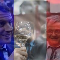 Emmanuel Macron ebéd és vacsora mellé is iszik bort