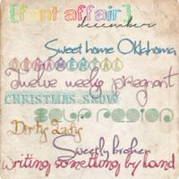Font Affair December