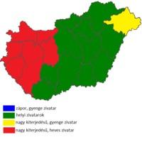 Konvektív előrejelzés 2015 július 8
